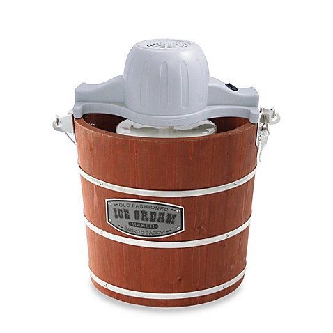 Back to Basics® 4-Quart Wooden Bucket Ice Cream Maker