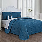 Avondale Manor Nolie Queen Quilt Set in Blue