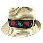 Toby™ Newborn Fedora with Interchangeable Bands