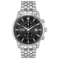 Citizen® Eco-Drive Corso Men's 42mm Chronograph Bracelet Watch in Stainless Steel