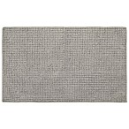 "Home Dynamix Oversized 27"" x 45"" Solid Color Bath Mat in Dark Grey"