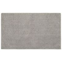 """Home Dynamix Oversized 27"""" x 45"""" Solid Color Bath Mat in Dark Grey"""