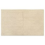 "Home Dynamix Oversized 27"" x 45"" Solid Color Bath Mat in Beige"