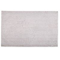 "Home Dynamix Oversized 27"" x 45"" Striped Bath Mat in Beige"