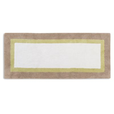 Madison Park Palm 60 Inch X 24 Bath Rug In Taupe