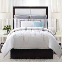 Vince Camuto® Sorrento Full/Queen Comforter Set in Aqua