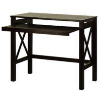Casual Home Montego Folding Desk in Espresso
