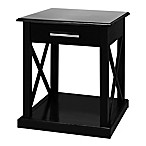 Bay View End Table in Black