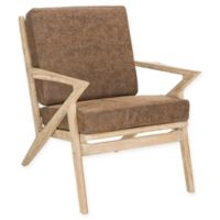 Safavieh Varys Accent Chair in Light Brown