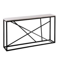 Southern Enterprises Arendal Skinny Console Table