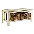 Forest Gate 40-Inch Storage Coffee Table in White Oak