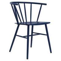 Novagratz Campbell Metal Cottage Chair in Navy