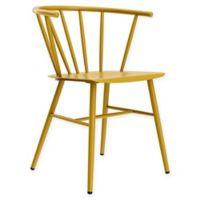 Novagratz Campbell Metal Cottage Chair in Mustard