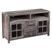 Southern Enterprises Kenwick Media Console in Dark Grey