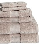 Crystal Bay 6-Piece Towel Set in Oxford Tan