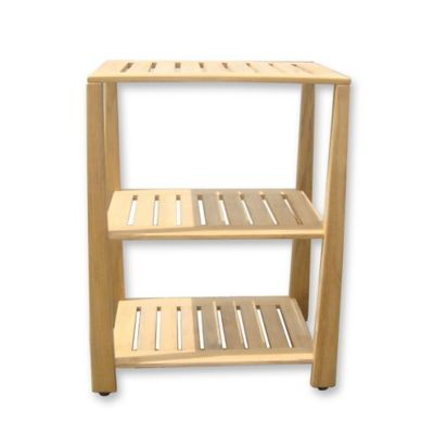 Buy Teak Bathroom Shelves from Bed Bath & Beyond
