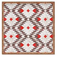 Deny Designs Native Rustic by Holli Zollinger Large Square Serving Tray