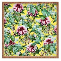 Deny Designs Yellow Flora by 83 Oranges Small Square Serving Tray