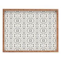 Deny Designs Mandala Tile Light by Holli Zollinger Small Rectangular Serving Tray