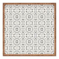 Deny Designs Mandala Tile Light by Holli Zollinger Large Square Serving Tray