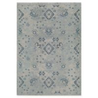 Rug America Beverly Abstract Loomed 5'3 x 7'6 Area Rug in Blue