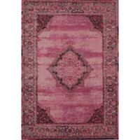 Rugs America Beverly Loomed 4' x 5'7 Area Rug in Red