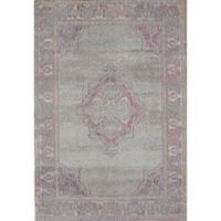 Rugs America Beverly Loomed 4' x 5'7 Area Rug in Grey