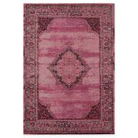 Rugs America Beverly Loomed 5'3 x 7'6 Area Rug in Red