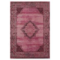 Rugs America Beverly Loomed 2'2 x 7'6 Area Rug in Red