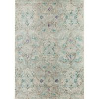 Rugs America Beverly 4' x 5'7 Loomed Area Rug in Blue