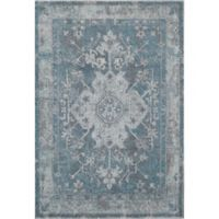 Rugs America Beverly 4' x 5'7 Area Rug in Blue