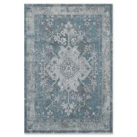 Rugs America Beverly 2'2 x 7'6 Runner in Blue