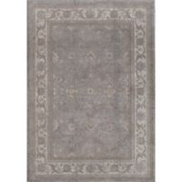 Rugs America Estelle 2' x 3' Accent Rug in Grey/Ivory