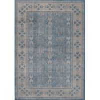 Rugs America Estelle Loomed 2' x 3' Area Rug in Seafoam/Ivory