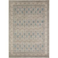 Rugs America Estelle Loomed 2' x 3' Area Rug in Ivory/Grey