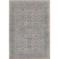 Rugs America Estelle Loomed 5'3 x 7'6 Area Rug in Ivory/Seafoam