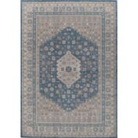 Rugs America Estelle Loomed 2' x 3' Area Rug in Seafoam/Cream