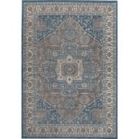 Rugs America Estelle Medallion 2' x 3' Accent Rug in Grey