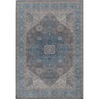 Rugs America Estelle Medallion 2'x 3' Accent Rug in Blue