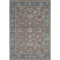 Rugs America Estelle 7'10 x 9'10 Area Rug in Grey/Blue
