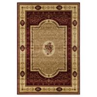 Rugs America New Vision Aubusson 5'3 x 7'10 Area Rug in Cherry