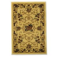 Rugs America New Vision Souvanerie 2' x 2'11 Accent Rug in Cream