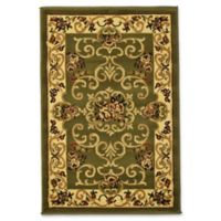 Rugs America New Vision Souvanerie 2' x 2'11 Accent Rug in Olive