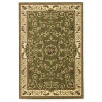 Rugs America New Vision Souvanerie 5'3 x 7'10 Area Rug in Olive