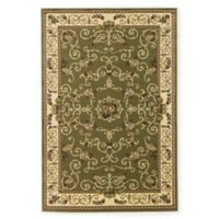 Rugs America New Vision Souvanerie 9'10 x 13'2 Area Rug in Olive
