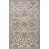 Rugs America Riviera Vintage-Inspired 2'7 x 4'11 Accent Rug in Light Blue