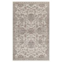 Rugs America Riviera Vintage-Inspired 2'7 x 4'11 Accent Rug in Cream