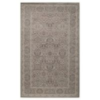 Rugs America Riviera Vintage Diamond 5' x 8' Area Rug in Light Green
