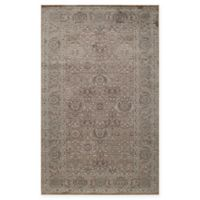 Rugs America Riviera Vintage Diamond 5' x 8' Area Rug in Brown
