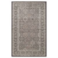 Rugs America Riviera Vintage Diamond 2'2 x 8' Runner in Black